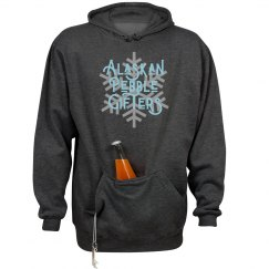 Alaskan Pebble Gifter Hoodie with plus sizes
