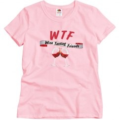 WTF Wine Tasting Friends women relaxed fit pk