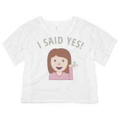Just Engaged Emoji Girl