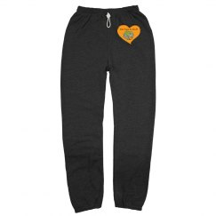 Fleece pants w/logo