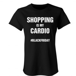 Black Friday Cardio Shirt