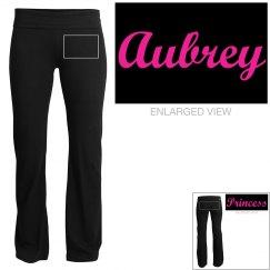 Aubrey, yoga pants