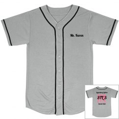 Baseball Jersey - Grey