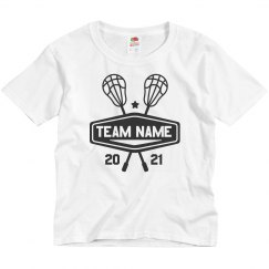 Custom Lacrosse Youth Kids Team Tee