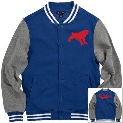 Quitman bulldogs men's jacket.