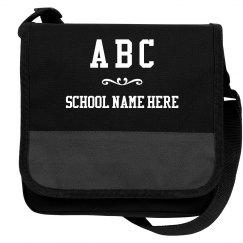 Custom Kids Initials And School