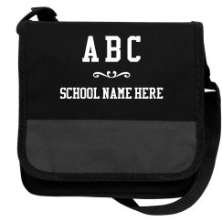 Custom Kids Initials And School