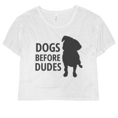 Dogs Before Dudes Crop