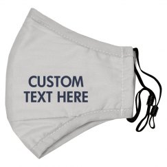 Personalized Face Mask Made in the USA
