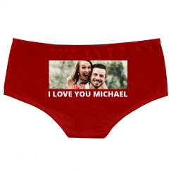 Upload Your Photo Custom Underwear