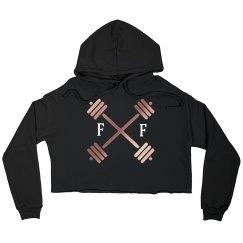 FF crop hoodie