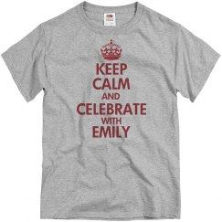 Keep Calm Basic Red