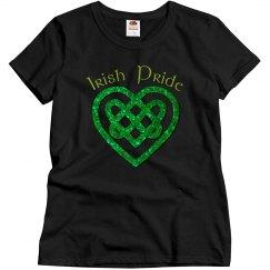 Irish Pride Celtic Heart Tee