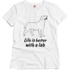 Life is better with a Lab