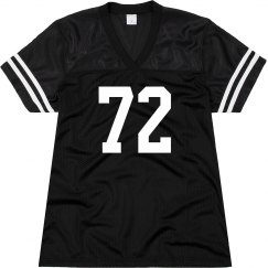 Sports number jersey
