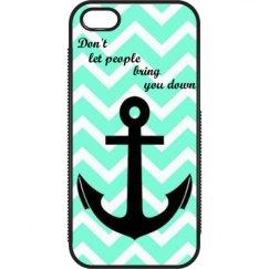 Cute anchor iPhone 5 case