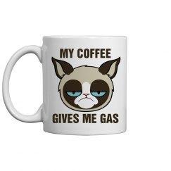 A Grumpy Cat Mug