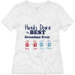 Peronalized Names Grandma Tee