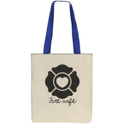 Fire wife tote