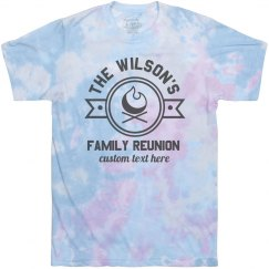 Family Reunion Tie-Dye Tee