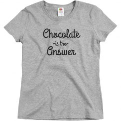 Chocolate Is Always The Answer
