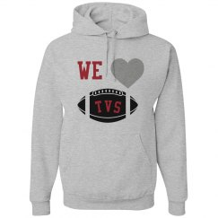 We love football hoodie