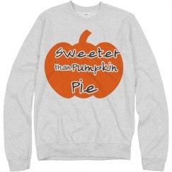Sweeter Than Pumpkin Pie