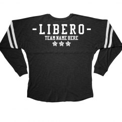 Custom Team Libero Volleyball Slub