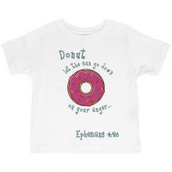 Toddler Donut Eph 4:26