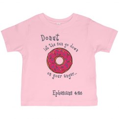 Toddler Donut Eph 4:26