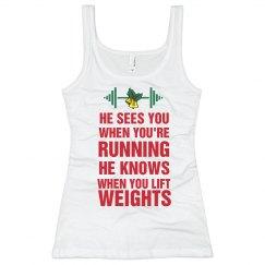 Holiday Workout Tank