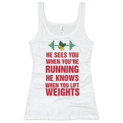 Holiday Workout Tank