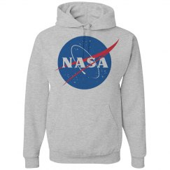 Her Heather Grey NASA Hoodie