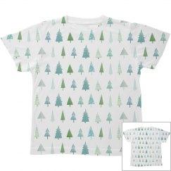 Winter Tree Trendy Kids Print