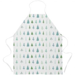 Winter Christmas Trees Holiday Gift