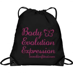 Body Evolution Expression Cinch bag/tote
