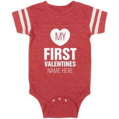 Custom Baby's First Valentine's Day