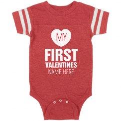 Custom Baby's First Valentine's Day