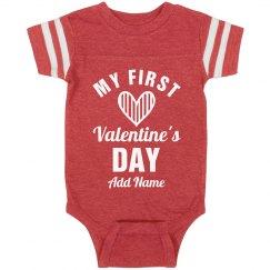 Baby's First Valentine's Day