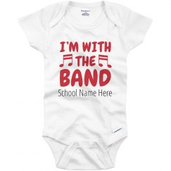 Baby With The Band Custom Bodysuit