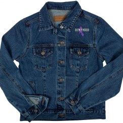 I Remember Me - Ladies Denim Jacket