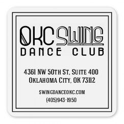 OKC Swing Dance Magnet