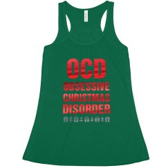 Metallic OCD Christmas Tee