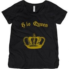 His Queen Tee