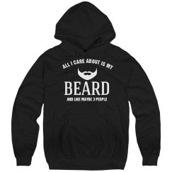 Care about is my beard