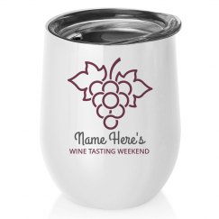 Custom Wine Weekend Tumbler