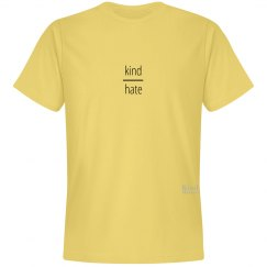 Kind over Hate unisex/mens tee