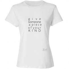Give a Piece of Mind ladies tee