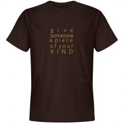 Give a Piece of Mind unisex/mens tee