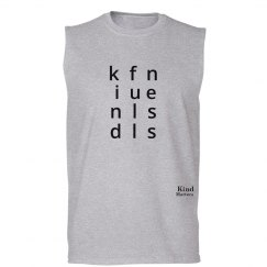 Kindfullness unisex/mens muscle tank